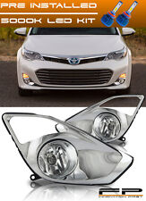 LED + 2013 2014 2015 Toyota Avalon Fog Light Lamp Replacement Complete Full Kit