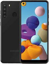 "Straight Talk SAMSUNG Galaxy A21 6.5"" 32GB Prepaid Smartphone Black"