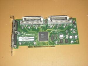 LSI Logic Symbios SYM22801 Dual Bus SCSI Controller PCI Card