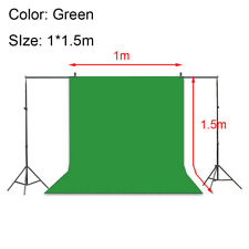 Photo Studio Background Stand Kit Multi-color/size Chromakey Screen Backdrop New