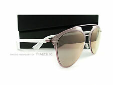 New Dior Sunglasses Reflected M2Q0J Pink White Rose Gold Mirror Authentic