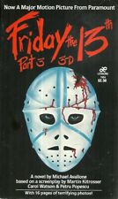 Friday the 13th Part 3 Michael Avallone  Horror/Terror Vintage