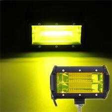 """Gelb 5"""" 72W Off-Road Auto Boot Zusatzscheinwerfer LED Lampe Flutlicht IP67 1X"""