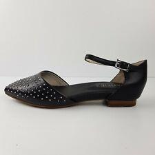 Frankie 4 Shoes Flats Size 8 Black Studded Ainsley