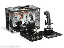 THRUSTMASTER HOTAS WARTHOG FLIGHTSTICK JOYSTICK FOR PC 2960720, 2 YEAR WARRANTY
