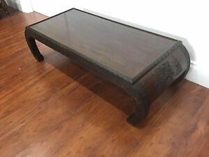 Oriental/Chinese coffee table in excellent condition