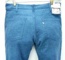 Levis 646 vintage mens size 33x31 blue corduroy bell bottom pants 70s dead stock