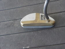 34.5 INCH MAXFLI  T- BONE II TAD MOORE MALLET PUTTER W ADVERTISING EXCELLENT