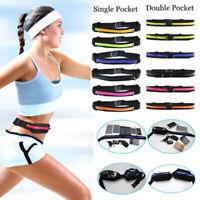 Sports Pack Belly Waist Bum Bag Fitness Running Jogging Cycling Belt Pouch