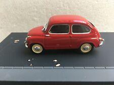 ALTAYA LA ROUTE BLEUE Fiat 600 incomplet 1/43 Voiture Miniature Collection