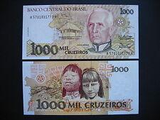 Brazil 1000 cruzeiros 1990 (p231b) unc