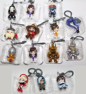 BLIZZARD BLIZZCON 2017 SERIES 1 OVERWATCH BACKPACK HANGER KEYCHAIN YOU PICK