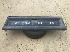 80-86 Ford Truck F-150 F-250 F-350 TAILGATE TAIL GATE Black OEM w/ Cables