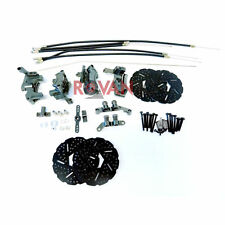 1:5 Rovan 4-Wheel Mechanical Brake Kit Fits HPI Baja 5b 5T 5SC King Motor Buggy