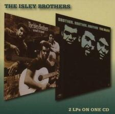 THE ISLEY BROTHERS - GIVIN IT BACK & BROTHER, BROTHER, BROTHER 2 On 1 CD (NEW)