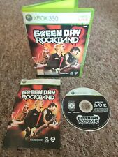 Green Day Rock Band - RARE Xbox 360 Game - With MANUAL! Fast & Free P&P!