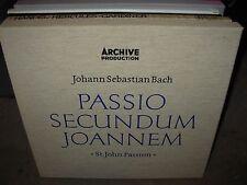 RICHTER / BACH st john passion ( classical ) 3 lp box archive