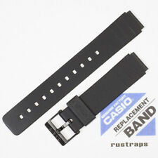 CASIO black rubber watch band for MQ-24, 71604416 (70605530)