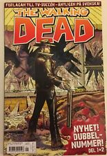 The Walking Dead #1 High Grade 9.8 comic - SWEDISH VARIANT