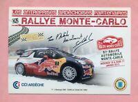 RALLYE MONTE CARLO 2013 - CITROËN DS 3 WRC - LOEB / ELENA