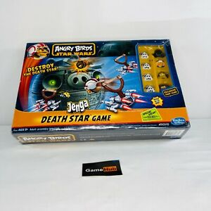 Star Wars Angry Birds Jenga Destroy The Death Star - 2012 Hasbro Game New Sealed
