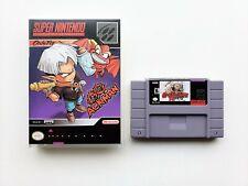 Go Go Ackman English Translated Custom Case / Game SNES Super Nintendo (USA)