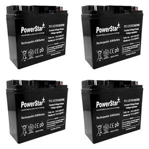 SLA Batteries for RBC11 RBC55 UPS 12V 12AH for APC SU2000 SU2200RM, 3yr Warranty