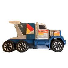Vintage Tonka GMC General Truck Made In Japan #135 Blue Plastic