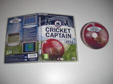 INTERNATIONAL CRICKET CAPTAIN 2012 Pc Cd Rom - Fast Dispatch
