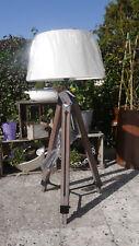 Stativlampe - 145 cm Dreibein Lampe - Tripodlampe - Stativ-Stehlampe