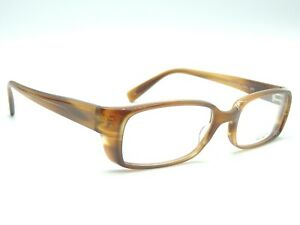Oliver Peoples Gehry Syc Brown Stripe Eyeglass Frames 53 18 140