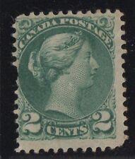 MOTON114    #36 Small Queen 2c Canada mint