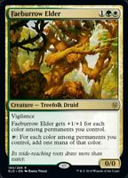 MTG x4 Faeburrow Elder Throne of Eldraine RARE NM/M Magic the Gathering