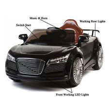 Sport Roadster Audi Style 12v Kids Ride on electric Car with Remote - Black