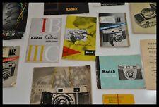 Manuales Kodak Retina, IB, IIIc, en aleman - Kamera Anleitungen Sammlung