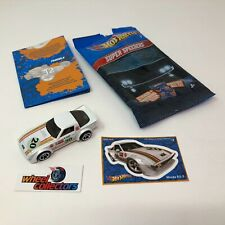 #5158  Mazda RX-7 * White * Hot Wheels Super Speeders * WC5