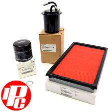Genuine Oil, Air & Fuel Filter Kit Fits: Subaru Impreza Turbo 92-05 WRX STI RA