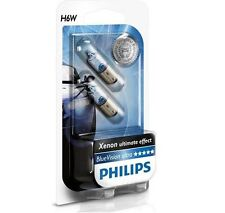 2 AMPOULES VEILLEUSES H6W PHILIPS BLUE ULTRA XENON 6W ALFA 147 156 156 SW 166 GT