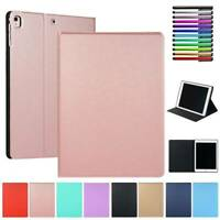 For iPad 9.7 5th 6th Gen Air Pro Mini Case PU Leather Smart Sleep Flip Cover