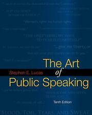 The Art of Public Speaking by Stephen Lucas (2008, Paperback)
