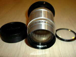 JUPITER-11 4/135 from movie NIKON F  lens <INFINITY ADJUSTED> PERFECT CONDITION