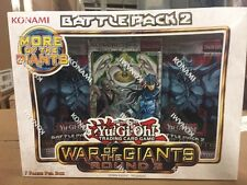 Yu-Gi-Oh War Of The Giants Round 2 Battle Pack For Card Game TCG CCG