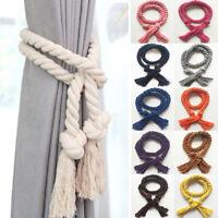 2PC Curtain Tiebacks Tie Backs Tassel Rope Living Room Bedroom Decoration Trendy