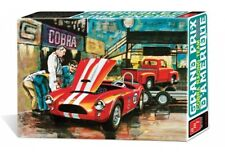 1953 Ford Racing Team Shelby Cobra with Ford Pickup & Trailer 1:25 AMT Plastic K