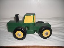 John Deere Wooden Play Pull Toy Tractor