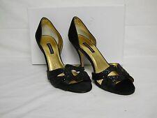 504c27c4c0c4 Caparros New Womens Meredith Black Open Toe D Orsay Heels 9.5 M Shoes NWB