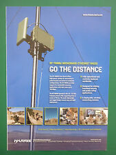 6/2008 PUB HARRIS MILITARY COMMUNICATION RF-7800W BROADBAND ETHERNET RADIO AD