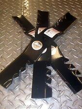 """Cub Cadet 3 gator blade set. 50"""" deck w/ round hole 759-04068  (96-387)"""