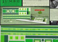Creative Memories Jumbo Great Lengths Green & Olive