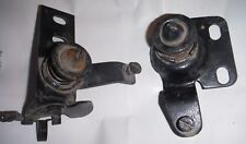 USED PAIR RIGHT AND LEFT ORIGINAL GM 1968-1976 BODY HOOD LATCH ASSEMBLIES